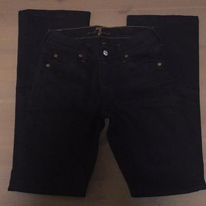 7 For All Mankind Black Bootcup Jeans Jerome Dahan